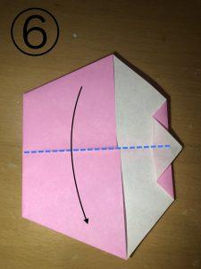 折り紙で立体的なウサギの作り方6