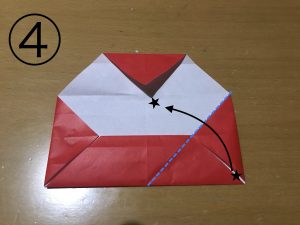 立体くす玉の折り紙パーツ4
