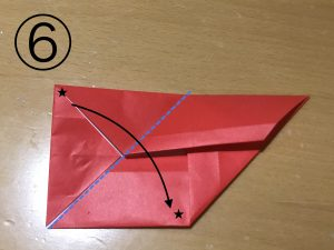 立体くす玉の折り紙パーツ6