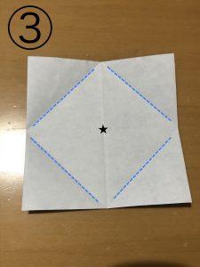 簡単な箱の折り方3