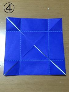簡単な箱の折り方4