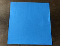 折り紙のちょうの折り方 蝶