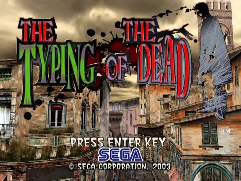 THE-TYPING-OF-THE-DEAD タイピングゲーム