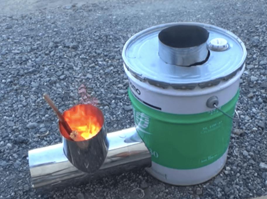 ロケットストーブの原理と簡単な作り方をご紹介!