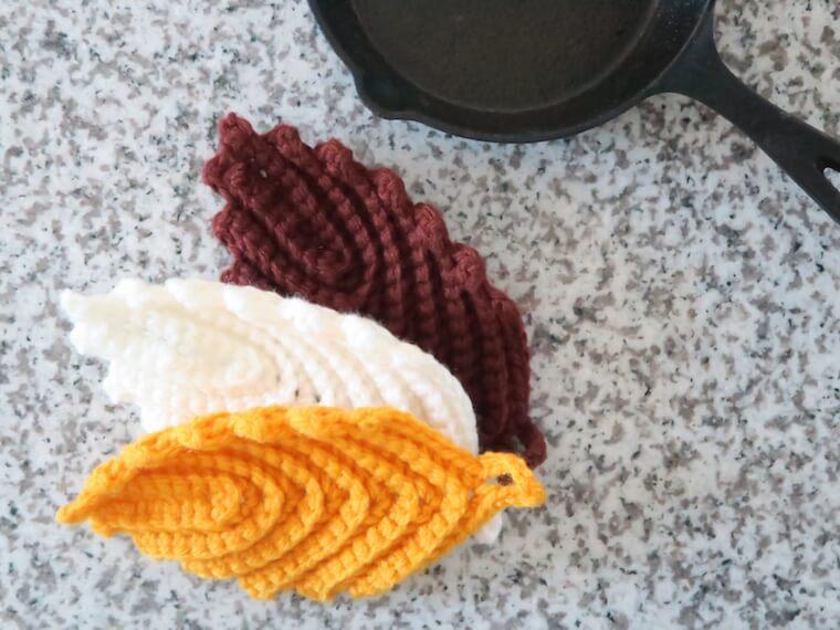 【初心者向け】アクリルたわしの編み方・作り方・編み図について