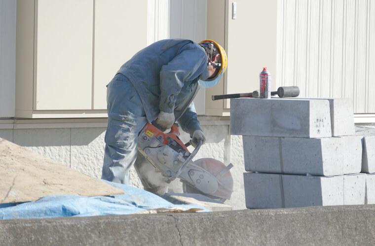 コンクリートの種類や比重・1立米で打てる範囲などについて