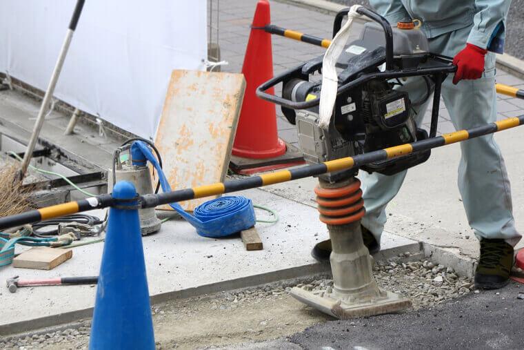 アスファルトの舗装方法・施工方法について